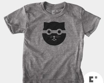 Bandit Cat - Boys & Girls Unisex TShirt