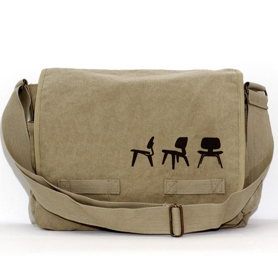 Messenger Bag Eames Plywood Chairs Crossbody Large Canvas  582a33aa296b0