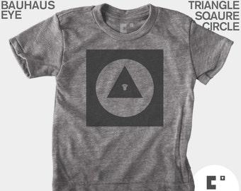 Bauhaus Explorer Shapes - Boys & Girls Unisex TShirt