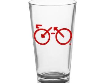 Bike - Pint Glass