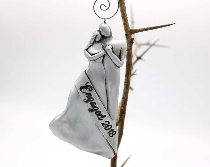 Engagement Ornaments, Engagement Gifts for Couples