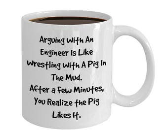 Engineer Coffee Mug, Funny Engineer Gift, Gift Engineer, Christmas Engineer, Birthday Engineer Gift, Gift Engineering Student, Engineering