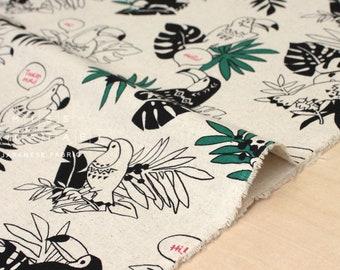 Oiseaux en tissu japonais Toucan - 50cm