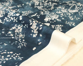 Lei de tissu japonais nani Iro Kokka nani - pour satin belle corolle - A - 50cm
