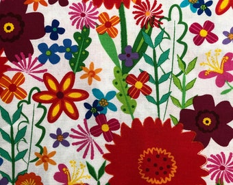 """One Fat Quarter Cut Quilt Fabric, """"Viva Brazil"""", Sewing-Quilting-Crafting Supplies"""