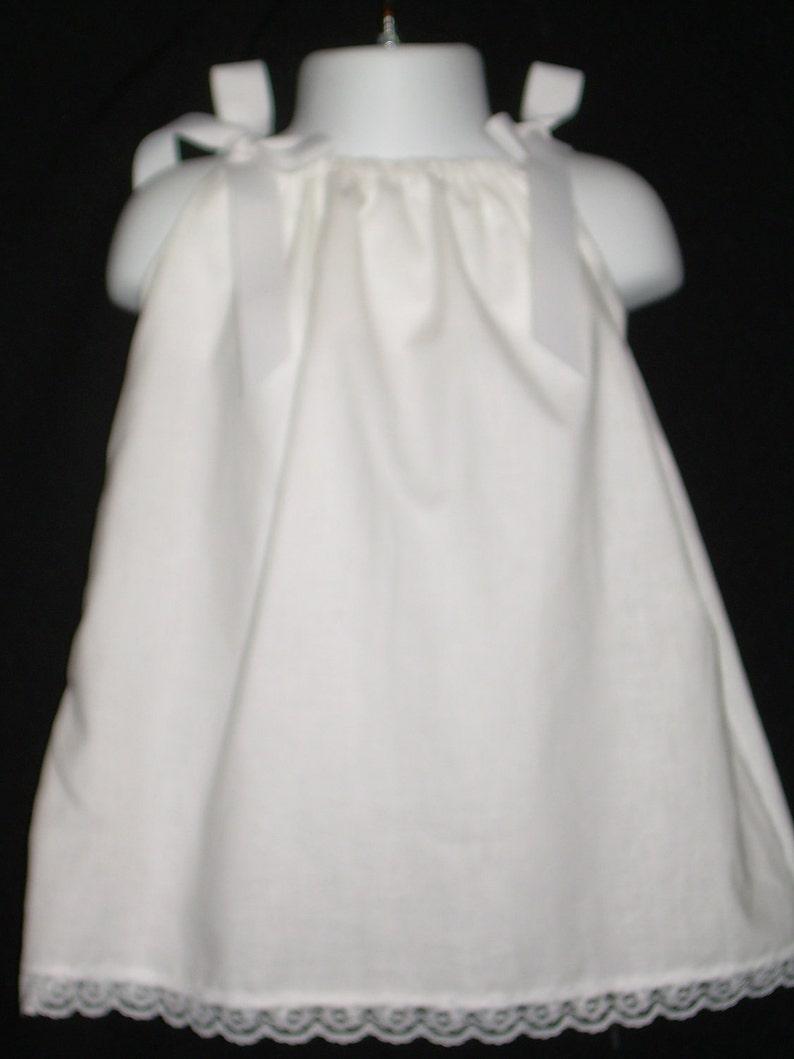 541a75effc White beach portrait flower girl dresses for little girls | Etsy