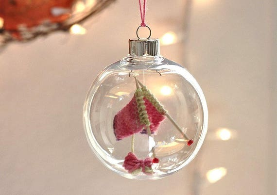 image 0 - Christmas Ornament Knitters Gift Christmas Decor Holiday Etsy