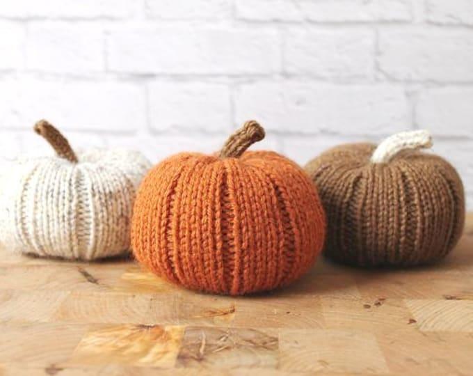 Fall Pumpkins, Pumpkin Decor, Knit Fall Decor, Autumn Decor, Tiered Tray Decor, Thanksgiving Decor, Fall Aesthetic, Cozy Aesthetic