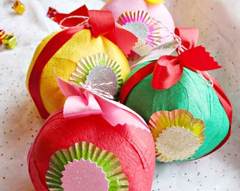 Surprise Ball All Occasion Luxe Favor Party Vintage Novelty