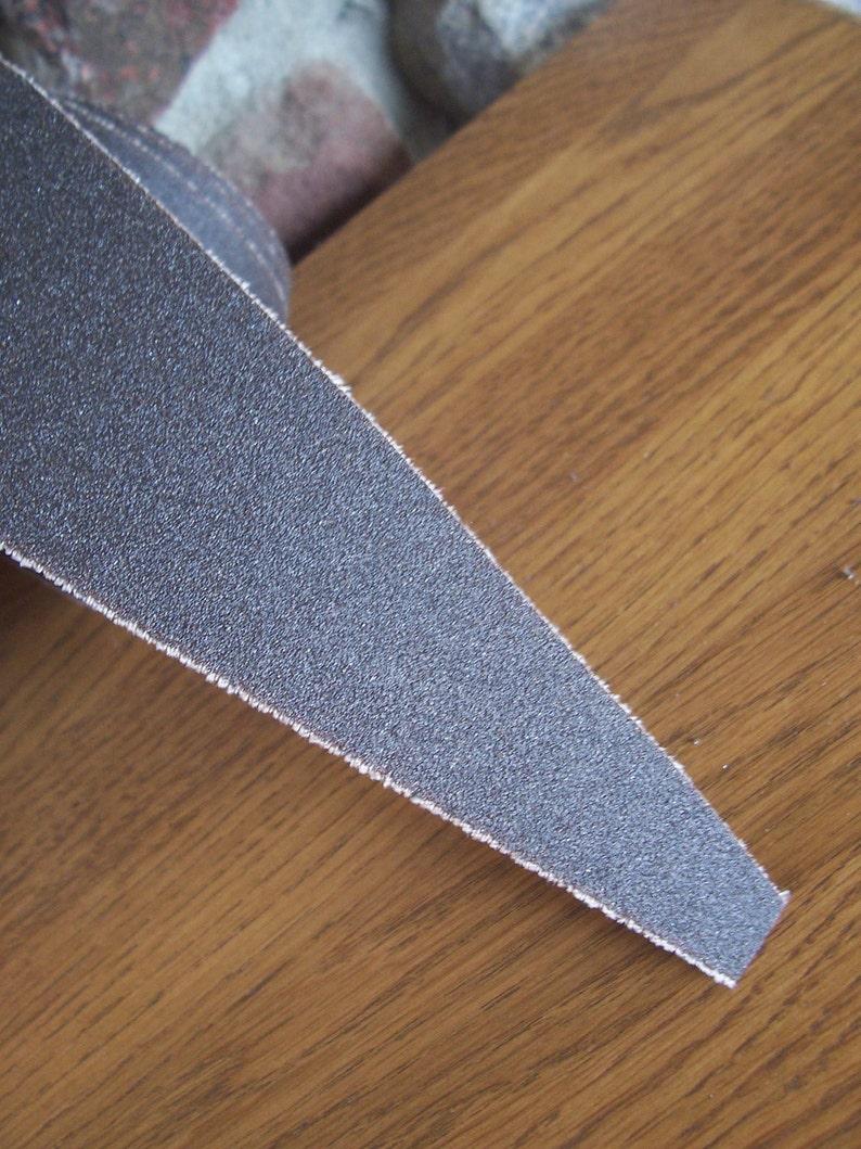 12 New Pre-Cut Sanding Belts Abrasive Strips Rolls for Ryobi WDS1600 Sander