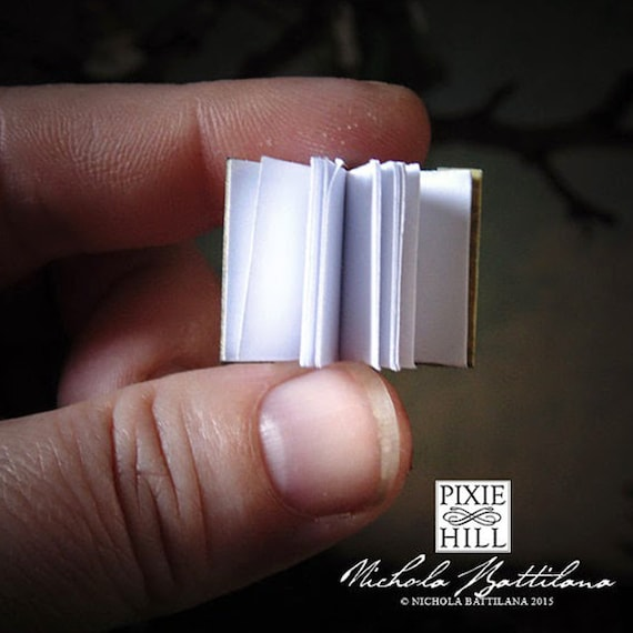 Miniature Openable Fairy Book Tutorial PDF Download