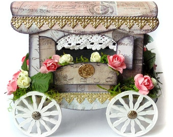 Paper Gypsy Caravan Tutorial and Template PDF Download