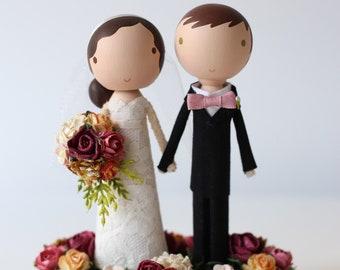THE STANDARD - custom wedding cake topper -