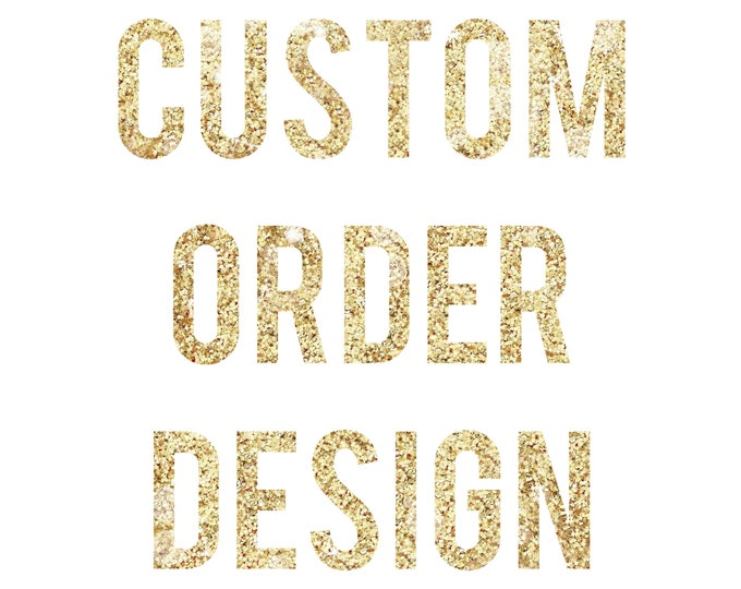 Custom Order Embroidery Design - 4x4 inch hoop Logo or design - You supply the artwork!