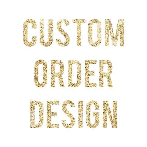 Custom Order Embroidery Design - 4x4 inch hoop Logo or design - You supply the artwork!