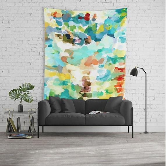 Wall Tapestry Art Tapestry Abstract Wall Art Dorm Room | Etsy