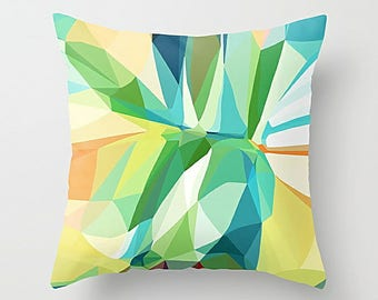 Geometric Pillow, Pillow Cover, Throw Pillow Cover, Cushion Cover, Accent Pillow, Art Pillow, Couch Pillow, Modern Pillow, Sofa Pillow