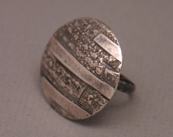 Fused Silver Ring