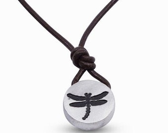 Dragonfly Necklace Dragonflies Jewelry insect jewelry Nature Necklace Minimalist necklace Dragon Fly Pewter Pendant Handmade by ZulaSurfing