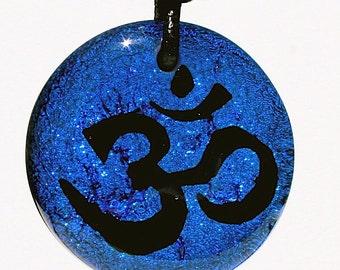 Om Necklace Yoga jewelry Handmade Yoga minimalist Necklace Handmade by ZulaSurfing