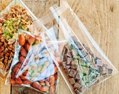 Food Safe Plastic Bags - Pre-wrap your Baked Goods and Nuts - Food favor accessory - Pack of 20