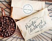 Oregon Wedding Favor - Pacific Northwest Blend Coffee Bag - 20 Bags (coffee not included)