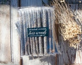 Wedding Send off - Lavender Bud Toss Wands - Confetti Alternative - Plain & Simple - 25 Tubes