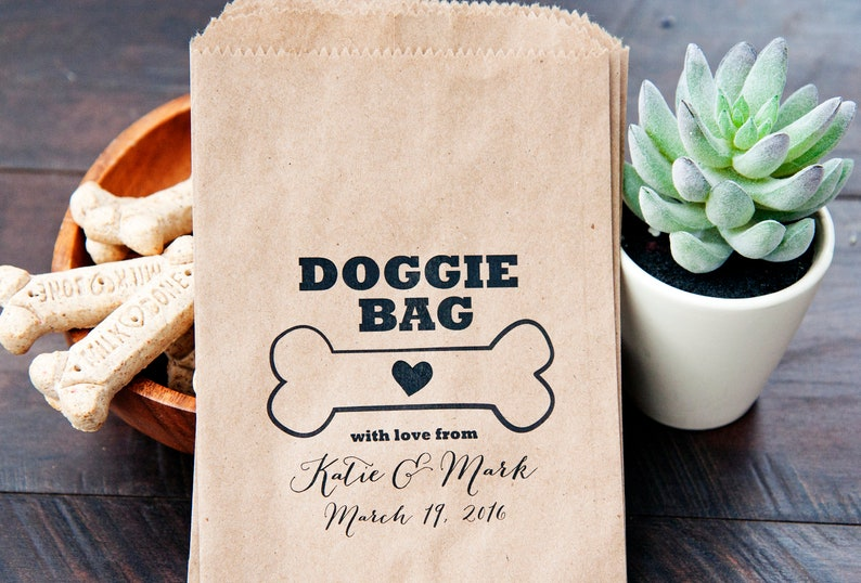 Wedding Favor Doggie Bag Gift from Your Pet Ultimate Dog  41fb29e3989eb