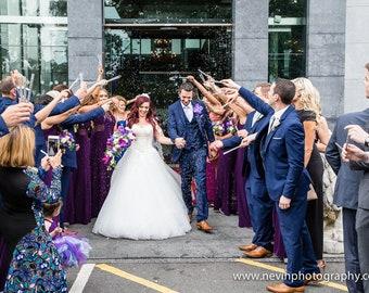 Lavender, Wedding Toss Wands, 25 tubes per pack