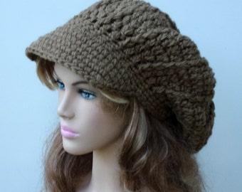 Slouchy newsboy hat  f083479e746a