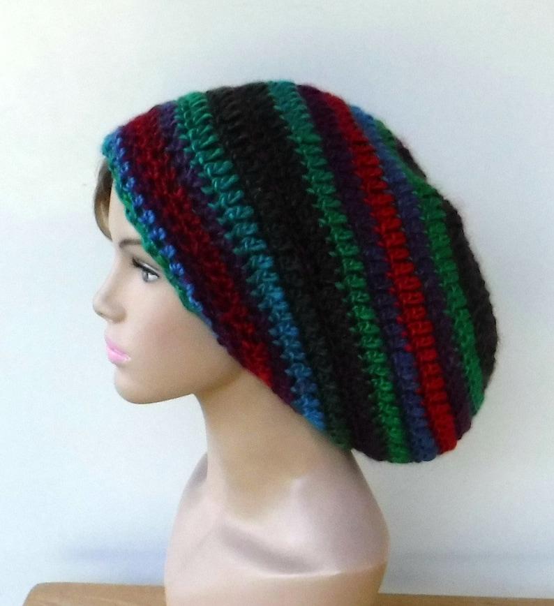 f9afae20ff6 Woman slouchy beanie woman slouchy hat green red burgundy blue