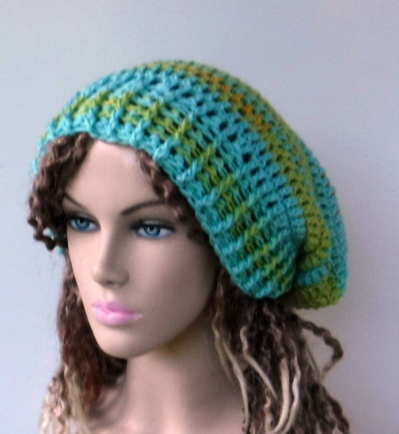 afd89d0549b Slouchy beanie soy fiber wool hat bright yellow chartreuse