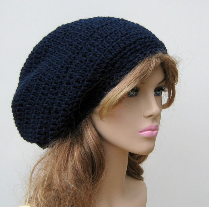 158e23a919c PDF Instant Download Pattern Basic Dread Tam or Slouchy Beanie