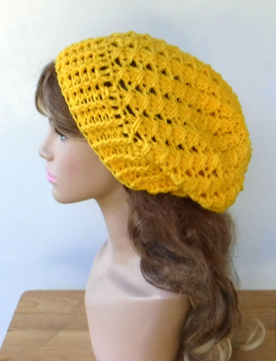 Sun yellow slouch beanie woman slouchy hat bright yellow  6c1a0ef4b2f