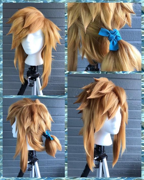Legend Of Zelda Breath Of The Wild Link Cosplay Wig