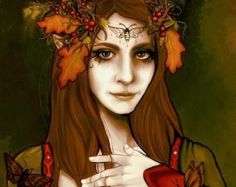 Forest Elf Fantasy Art