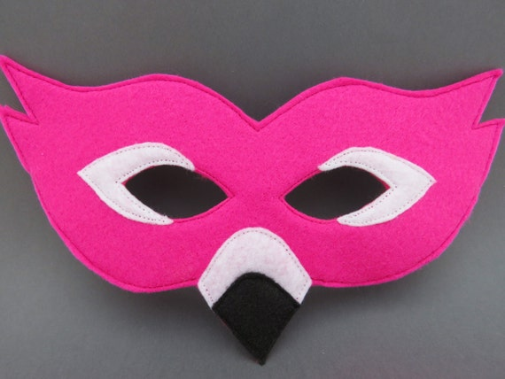 who is the flamingo on mask