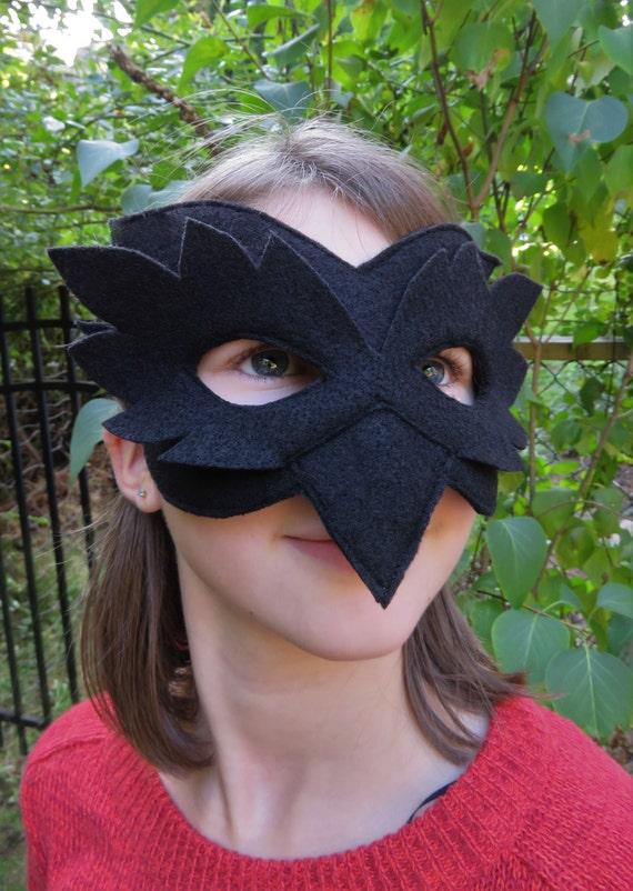 & Raven Mask Bird Mask Crow Costume Accessory Masquerade