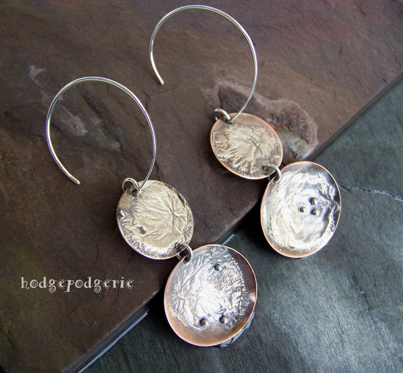 A Fused and Reticulated Silver Earring Tutorial by Stacy Perry Earrings on Fire