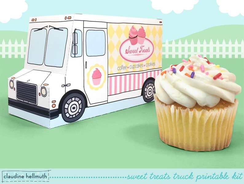 Sweet treats truck