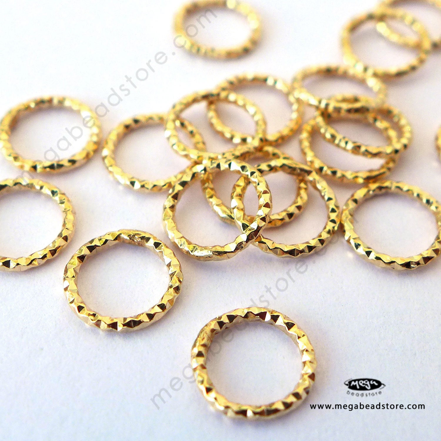 80 New Charms Crimp Beads Covers 5mm Gold Dull Silver Bronze Plated Connectors