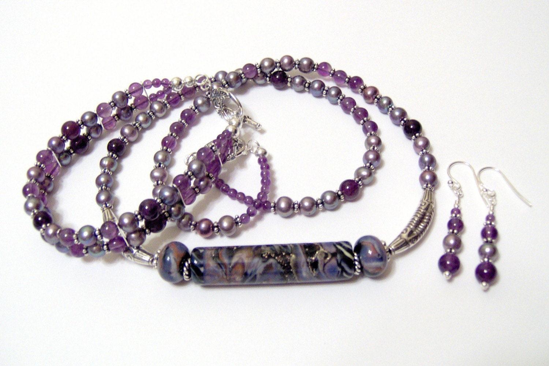 Luscious Purple Bracelet