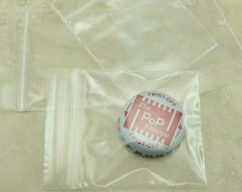 """2"""" x 2"""" Zip Lock Baggies Baggy Bags - 5cm x 5cm - For Jewelry, Beads, Small Items, Coins, Parts, Samples, Etc - QTY 100 Pieces"""