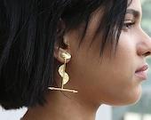 The Fire Untrue Stick Earrings