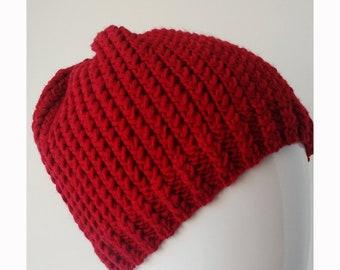 914d8553dcf SAMPLE SALE Size Small-Medium Merino Wool Hand Knit Hat