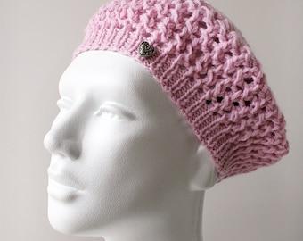 cbb3ef8b91c SAMPLE SALE Hand Knit Hat in Merino Wool