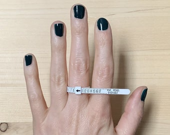 reusable ring sizer | ring sizing gauge | find your ring size