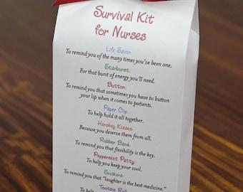 Survival Kit for Nurses - Printable PDF