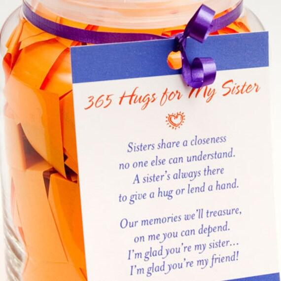 365 Umarmungen Für Meine Schwester Sprüche Druckversion Pdf