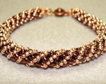 Copper and Chocolate Bronze